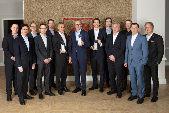 ©The Board of Kathrein Privatbank with the Portfolio Management Team and the Sales Directors.